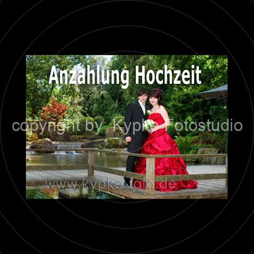 2 Anzahlung  Outdoor Fotoshooting